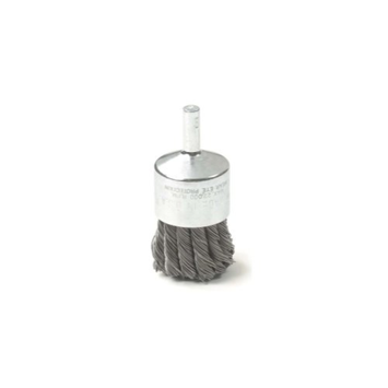 KD Tools 2312 1-inch Knot Type Wire End Brush