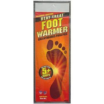 Grabber Warmers Foot Warmers, Small/Medium 3 pr