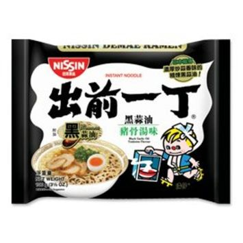 Nissin Demae Black Garlic Oil Instant Authentic HK Japanese Ramen Noodles (5 Pack)