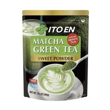 Ito En Matcha Green Tea, Sweet Powder, 17.5 Ounce (Pack of 1), Sweetened Green Tea Powder, Antioxidant Rich, Good Source of Vitamin C, Japanese Matcha Powder Mix