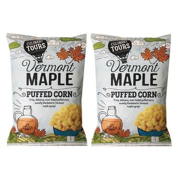 Culinary Tours Pupped Crispy Sweet Corn 5oz, 2 Packs (Vermont Maple)