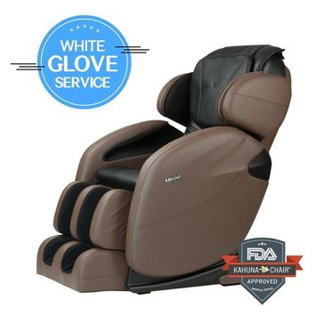 Space-Saving Zero Gravity Full-Body Kahuna Massage Chair Recliner LM6800 with yoga & heating therapy