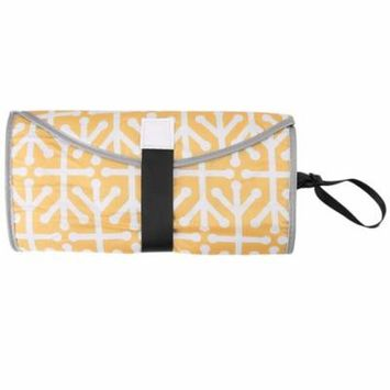 3 in 1 Portable Baby Diaper Clutch Changing Pad Infant Toddler Foldable Mat Cover Diaper Changing Pad Foldable Diaper Changing Pad