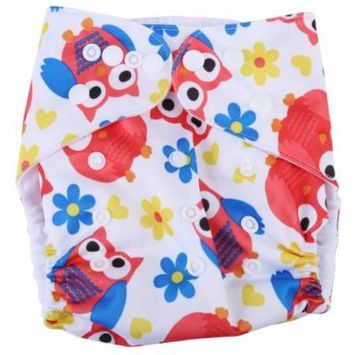 3 Layers Baby Infant Adjustable Reusable Washable Cloth Diaper Breathable Underwear Pants Baby Reusable Cloth Diaper Infant Cloth Diaper