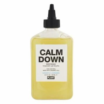 100% Natural Calm Down Body Wash Ginger & Lavender - 9.5 fl. oz. by Plant Apothecary (pack of 6)