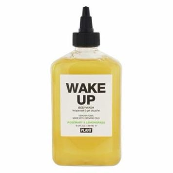 100% Natural Wake Up Body Wash Rosemary & Lemongrass - 9.5 fl. oz. by Plant Apothecary (pack of 6)