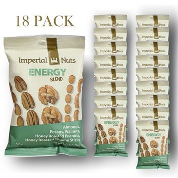 Nuts Snack Packs Mixed Nuts, Seeds and Dried Fruit Great on the Go Snack (Energy Blend)