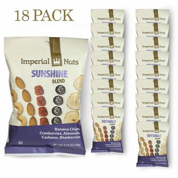 Nuts Snack Packs Mixed Nuts, Seeds and Dried Fruit Great on the Go Snack (Sunshine Blend)