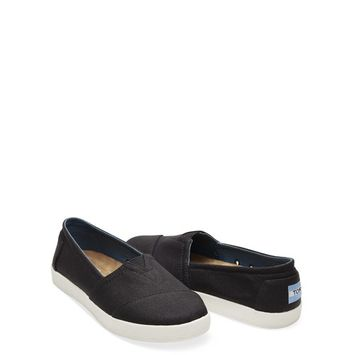 TOMS - TOMS Women's Coated Canvas Avalon Slip-On Shoes [name: shoe_size value: shoe_size-10]
