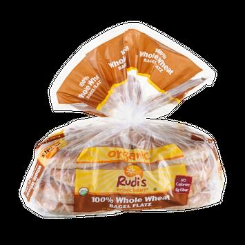 Rudi's Organic Bakery Bagel Flatz 100% Whole Wheat Organic  - 8 CT