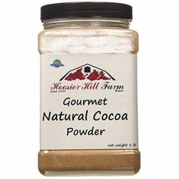 Hoosier Hill Farm Natural Cocoa Powder, 1 lb plastic jar