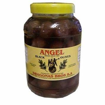 Greek Black Olives (Angel) 1 kg (2.2 lb)