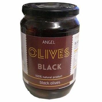 Angel Greek Black Olives, 700g