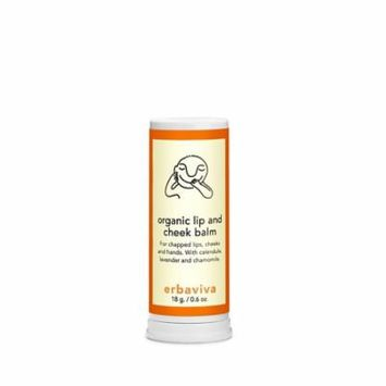Ba Lip and Cheek Balm, Ivory, An essential for keeping baby's skin and lips balanced and moisturized every day, all day By Erbaviva