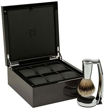 HOMMAGE Monaco Shave Set and Watch Box