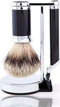 HOMMAGE Carbon Fiber Shave Set