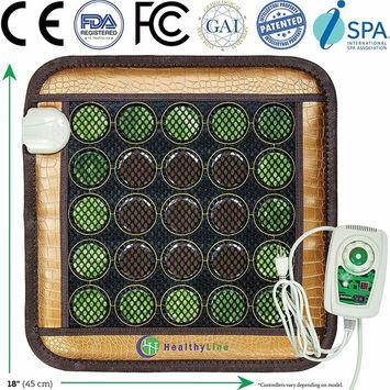 HealthyLine Far Infrared Heating Pad - Natural Jade Tourmaline Stones - Mesh JT Pad Small 1818 InfraMat Pro®