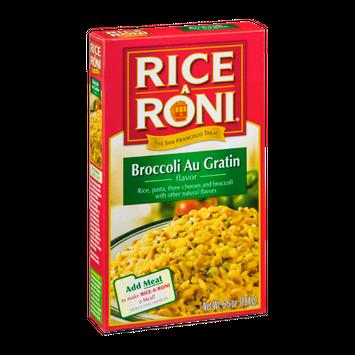Rice-A-Roni Broccoli Au Gratin
