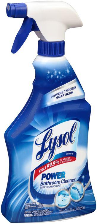 Lysol® Power Soap Scum & Shine Bathroom Cleaner