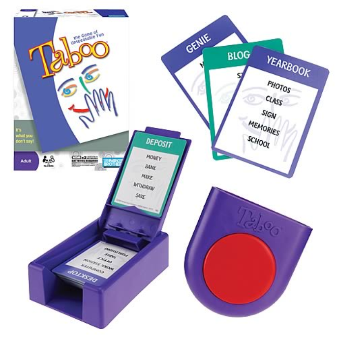 Slide: Taboo Word Guessing Game