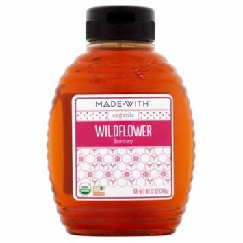 Made With Honey Wildflower Org,12 Oz (Pack Of 12)