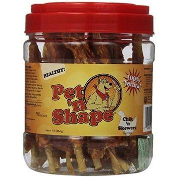 Pet 'n Shape All Natural Chik'n or Duck Skewers, Dog Treats [Chicken]