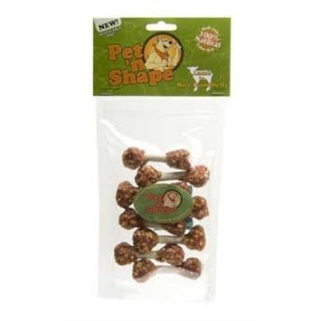 Pet 'n Shape Lamb 'n Rice Dumbbells Dog Treats, 3 Ounce