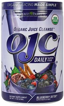Purity Products - Organic Juice Cleanse Blueberry Detox - 7.4 oz.