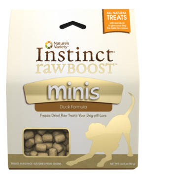 Nature's Variety Instinct Nature's VarietyA InstinctA Raw Boost Minis Dog Treat