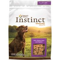 Natures Variety Instinct Biscuits-Rabbit & Apple-10 oz.