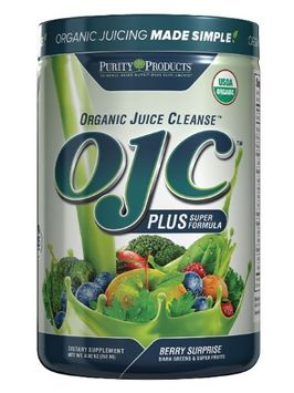 Purity Products Certified Organic Juice Cleanse - OJC Plus - Berry Greens