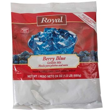 Clabber Girl Royal Gelatin [berry blue]