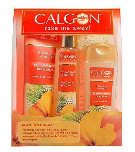 Calgon 4 Piece Hawaiian Ginger Gift Set