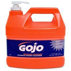 GOJO NATURAL ORANGE Pumice Hand Cleaner - GOJO INDUSTRIES INC