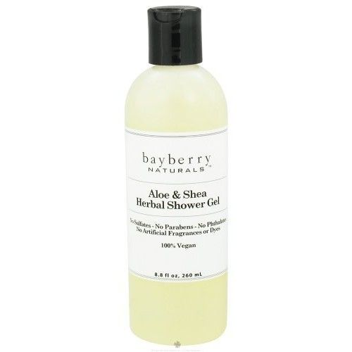 Bayberry Naturals - Shower Gel Aloe & Shea Herbal - 8.8 oz.