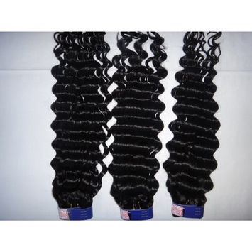 Beauty Hair Cheap Virgin Hair Chinese 100% Human Hair Weave Deep Wave Curly Hair Extension (14)