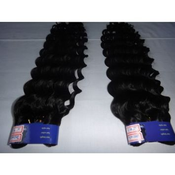 5a Queen Beauty Top Quality Virgin Hair Deep Wave Brazilian Hair 100% Queen Natural Color Human Hair 3pcs/lot Tangle Free (20+22+24 Inches)