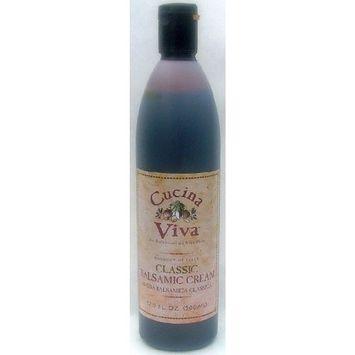 2 Pack -Cucina Viva Classic Balsamic Glaze (Cream) - 8.5 fl. Oz. each