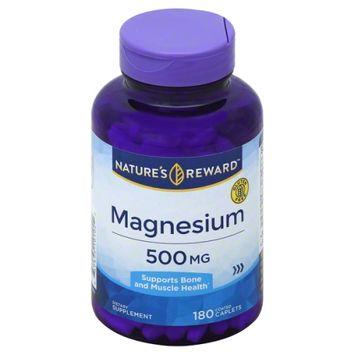 Nature's Reward Magnesium 500MG 180 ct