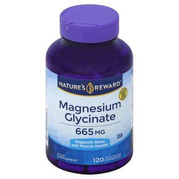 Nature's Reward Magnesium Glycinate 655MG 120 ct