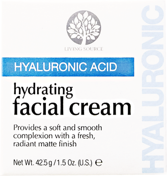 Living Source Hyaluronic Acid Hydrating Facial Cream