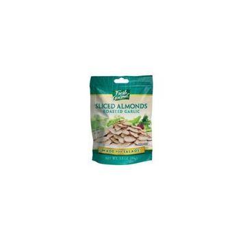 Fresh Gourmet Roasted Garlic Sliced Almonds for Salads - 9 Pack