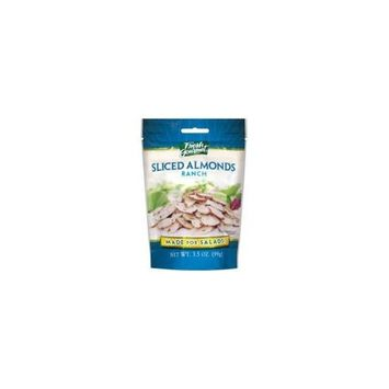 Fresh Gourmet Ranch Flavor Sliced Almonds for Salads - 9 Pack