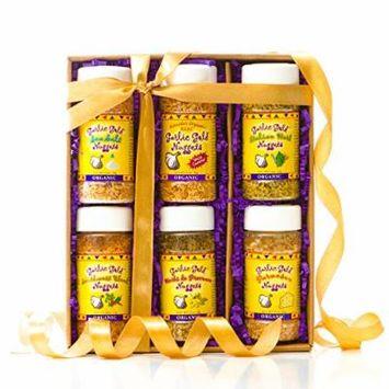 USDA Organic Certified Garlic Gold; Best Selling Garlic Nugget Gift Box (Original, Sea Salt, Parmesan, Italian Herb, Herb de Provence, Southwest)
