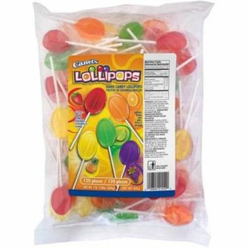 (2 Pack) Canel's Lollipops, 120 count, 23.28 oz