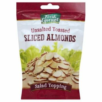 Pack of 2 - Fresh Gourmet Toasted Sliced Almonds, 3.5 OZ