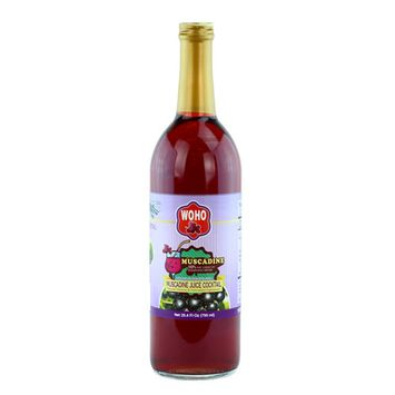 WOHO® 100% pure Muscadine Cocktail 25.4 oz (750ml)