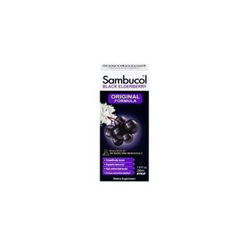 Sambucol Sambucol Black Elderberry Immune System Support, Syrup 7.8 Oz (Pack of 3)