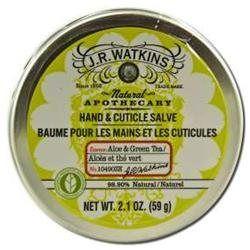 J.R. Watkins Hand & Cuticle Salve - Aloe & Green Tea