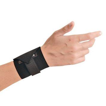 OCCUNOMIX 311068 Wrist Support, Ambidextrous, Black